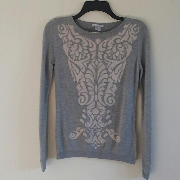 0b935540616b H&M Sweaters | H M Womens Pullover Gray Sweater Szs | Poshmark